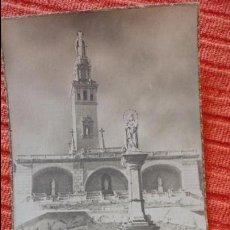 Postales: ANTIGUA ESTAMPA.MONUMENTOS SAGRADOS CORAZONES.SAN JUAN AZNALFARACHE.SEVILLA.. Lote 62561680