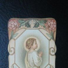 Postales: ANTIGUA Y BONITA ESTAMPA DEL NIÑO JESS. RECUERDO LAS PALMAS. 1906. Lote 62946044