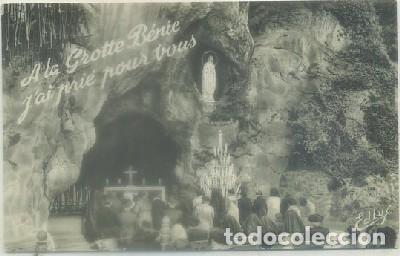POSTAL RELIGIOSA. LOURDES. LA GRUTA P-REL-433 (Postales - Postales Temáticas - Religiosas y Recordatorios)