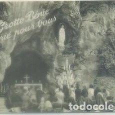 Postales: POSTAL RELIGIOSA. LOURDES. LA GRUTA P-REL-433. Lote 63096520