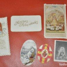 Postales: RECORDATORIOS , LOTE DE 7 PIEZAS . Lote 63519264