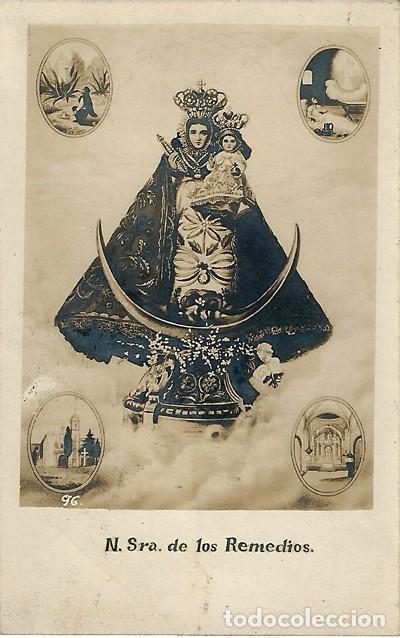 N.SRA.DE LOS REMEDIOS (Postales - Postales Temáticas - Religiosas y Recordatorios)