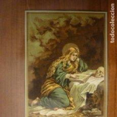 Postales: ESTAMPA RELIGIOSA SANTA MARIA MAGDALENA.. Lote 65697890