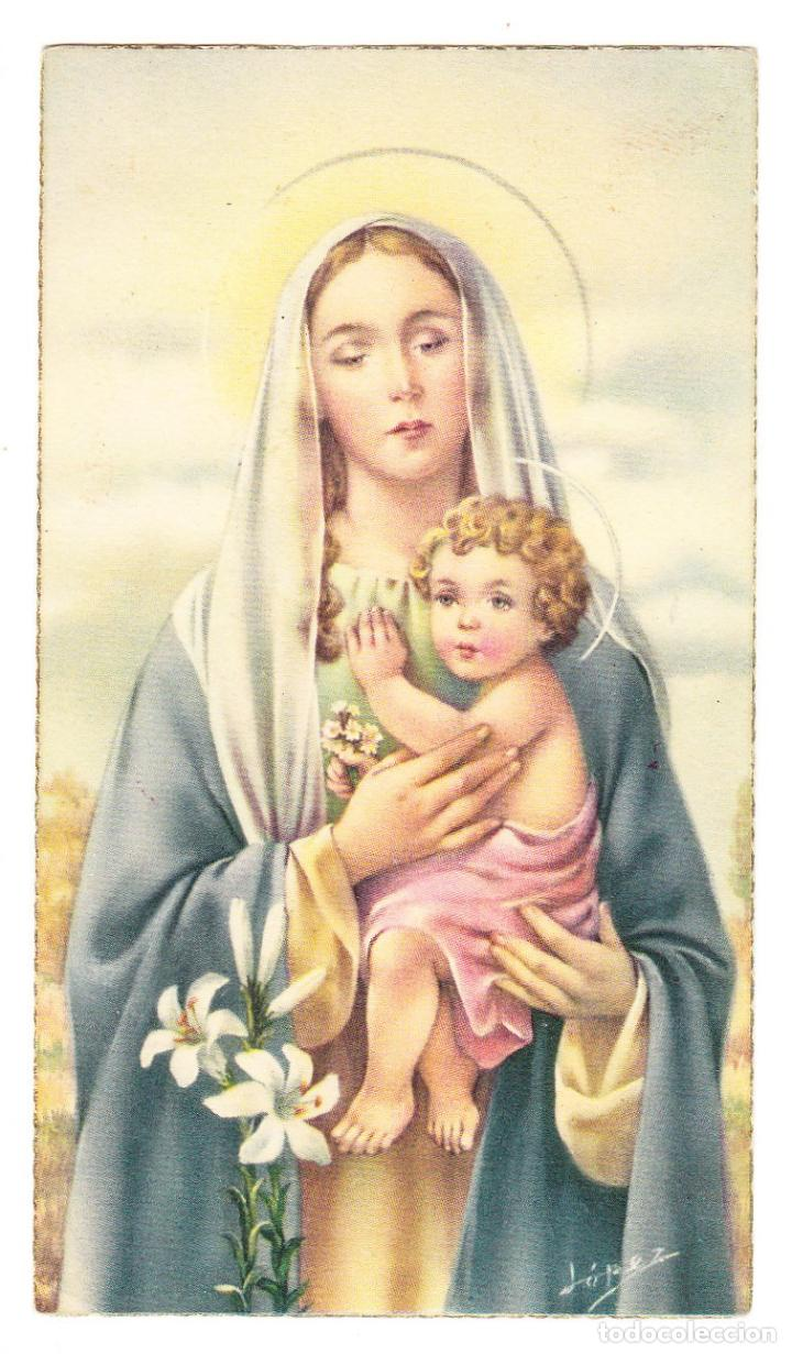 Virgen Maria Niño Jesus Lopez Cyz Alfa L 2 Buy Religious