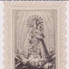 Postales: ESTAMPA CALADA NTRA, SEÑORA DE LOS DESAMPARADOS, LIT. SANCHÍS VALENCIA. Lote 67208445