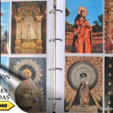 Postales: COLECCIÓN 163 POSTALES RELIGIOSA LA VIRGEN, CRISTO PAPA EN ÁLBUM CON HOJAS VER TODAS EN FOTOGRAFIAS. Lote 67301381