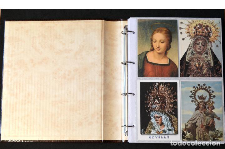 Postales: COLECCIÓN 163 POSTALES RELIGIOSA LA VIRGEN, CRISTO PAPA EN ÁLBUM CON HOJAS VER TODAS EN FOTOGRAFIAS - Foto 2 - 67301381