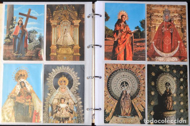 Postales: COLECCIÓN 163 POSTALES RELIGIOSA LA VIRGEN, CRISTO PAPA EN ÁLBUM CON HOJAS VER TODAS EN FOTOGRAFIAS - Foto 3 - 67301381