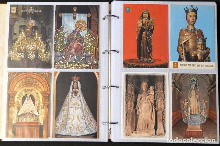 Postales: COLECCIÓN 163 POSTALES RELIGIOSA LA VIRGEN, CRISTO PAPA EN ÁLBUM CON HOJAS VER TODAS EN FOTOGRAFIAS - Foto 4 - 67301381