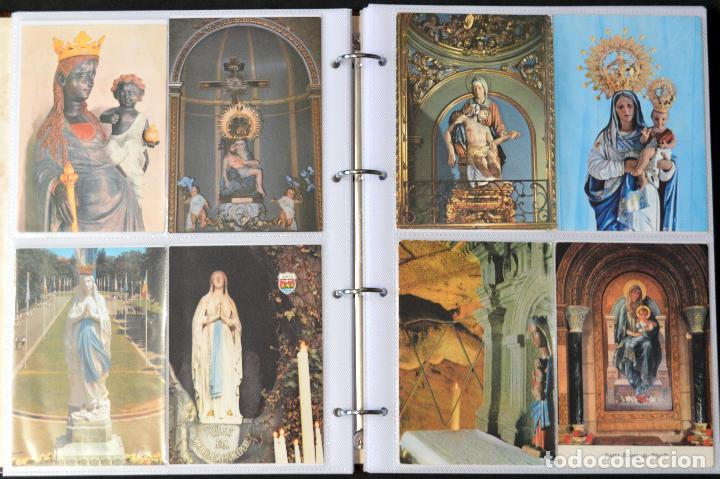 Postales: COLECCIÓN 163 POSTALES RELIGIOSA LA VIRGEN, CRISTO PAPA EN ÁLBUM CON HOJAS VER TODAS EN FOTOGRAFIAS - Foto 6 - 67301381