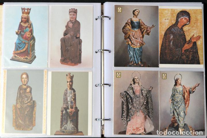 Postales: COLECCIÓN 163 POSTALES RELIGIOSA LA VIRGEN, CRISTO PAPA EN ÁLBUM CON HOJAS VER TODAS EN FOTOGRAFIAS - Foto 7 - 67301381