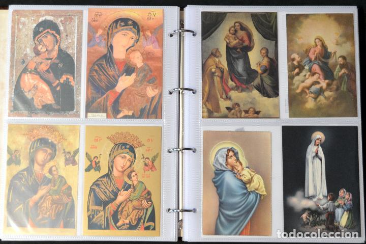 Postales: COLECCIÓN 163 POSTALES RELIGIOSA LA VIRGEN, CRISTO PAPA EN ÁLBUM CON HOJAS VER TODAS EN FOTOGRAFIAS - Foto 8 - 67301381