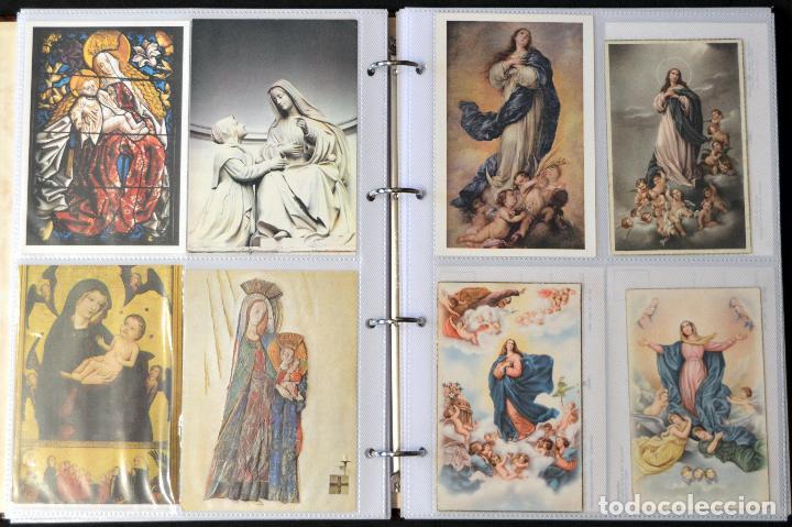 Postales: COLECCIÓN 163 POSTALES RELIGIOSA LA VIRGEN, CRISTO PAPA EN ÁLBUM CON HOJAS VER TODAS EN FOTOGRAFIAS - Foto 9 - 67301381