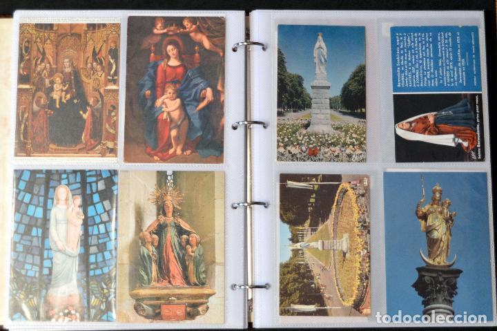 Postales: COLECCIÓN 163 POSTALES RELIGIOSA LA VIRGEN, CRISTO PAPA EN ÁLBUM CON HOJAS VER TODAS EN FOTOGRAFIAS - Foto 10 - 67301381