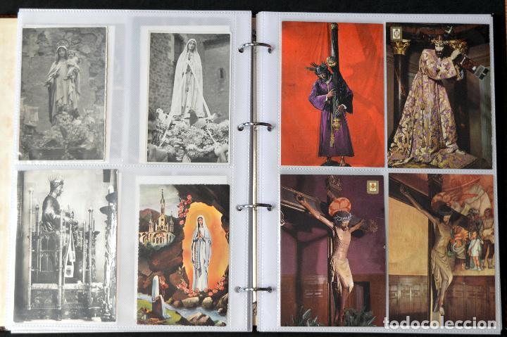 Postales: COLECCIÓN 163 POSTALES RELIGIOSA LA VIRGEN, CRISTO PAPA EN ÁLBUM CON HOJAS VER TODAS EN FOTOGRAFIAS - Foto 11 - 67301381