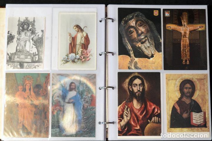 Postales: COLECCIÓN 163 POSTALES RELIGIOSA LA VIRGEN, CRISTO PAPA EN ÁLBUM CON HOJAS VER TODAS EN FOTOGRAFIAS - Foto 12 - 67301381