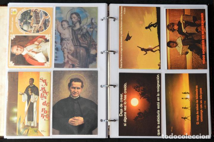 Postales: COLECCIÓN 163 POSTALES RELIGIOSA LA VIRGEN, CRISTO PAPA EN ÁLBUM CON HOJAS VER TODAS EN FOTOGRAFIAS - Foto 14 - 67301381