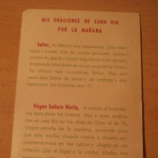 Postales: RECORDATORIO RELIGIOSO. Lote 67634905