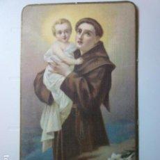 Postales: ESTAMPA RELIGIOSA SAN ANTONIO.. Lote 67692269