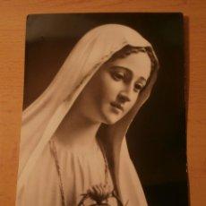 Postales: POSTAL RELIGIOSA CORAZON INMACULADO DE MARIA. Lote 67751401
