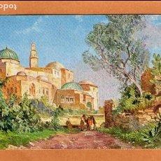 Postales: RELIGIÓN - ARTE - TUMBA DE DAVID DE ISRAEL - MONTE SION - HAGIA ZION - JERUSALÉN - AÑOS 20/30. Lote 68416389