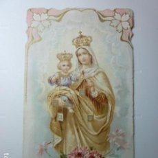 Postales: ESTAMPA RELIGIOSA NTRA. SRA DEL CARMEN.. Lote 70036081