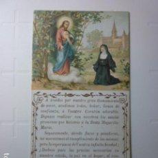 Postales: DIPTICO CON SALMO LXII. JUANA DE LIAS.. Lote 70160413
