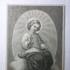 Postales: ESTAMPA RELIGIOSA. FINALES S.XIX.. Lote 70162885