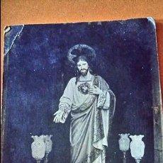 Postales: ANTIGUA POSTAL DE JESUS. DONATIVO DE LOS PUENTEREANOS EN LA ARGENTINA. REINARE EN ESPAÑA.. Lote 70552529