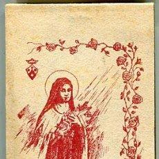 Postales: COLECCION DE POSTALES DE SANTA TERESITA DEL NIÑO JESUS. LIBRITO COMPLETO CON 20 POSTALES. Lote 71200465