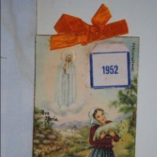 Postales: POSTAL ALMANAQUE 1952. Lote 71404747