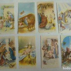 Postales: ESTAMPA RELIGIOSA LOTE DE 8 ESTAMPAS ANTIGUAS. Lote 71734995