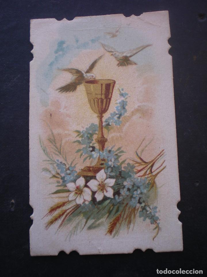 ESTAMPA RELIGIOSA, RECORDATORIO PRIMERA COMUNION, CHESTE VALENCIA 1931 (Postales - Postales Temáticas - Religiosas y Recordatorios)