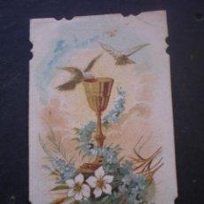 Postales: ESTAMPA RELIGIOSA, RECORDATORIO PRIMERA COMUNION, CHESTE VALENCIA 1931. Lote 71862895
