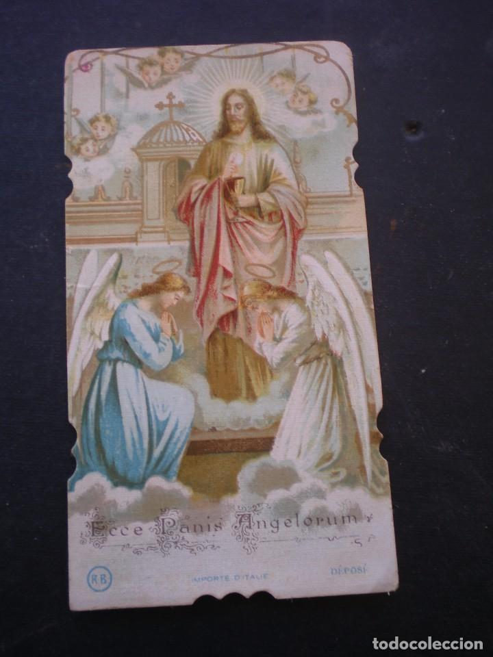 ESTAMPA RELIGIOSA, RECORDATORIO PRIMERA COMUNION, CHESTE, 1932, VALENCIA (Postales - Postales Temáticas - Religiosas y Recordatorios)