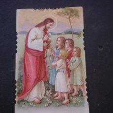 Postales: ESTAMPA RELIGIOSA, RECORDATORIO PRIMERA COMUNION, CHESTE, 1930, VALENCIA. Lote 71863807