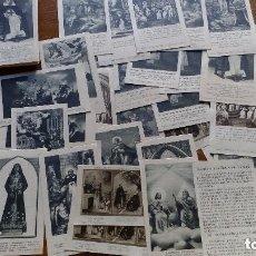 Cartes Postales: LOTE 60 ESTAMPAS RELIGIOSAS DE LA COLECCION TRINITARIA. Lote 72171543