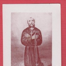 Postales: ESTAMPA RELIGIOSA EN B/N DE CASIMIRO BARELLO MORELLO IMP. NACHER VALENCIA 7 X 12 CM EST.3315. Lote 72951927