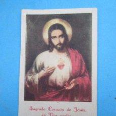 Postales: ESTAMPA SAGRADO CORAZON DE JESUS , 1906. Lote 75207303