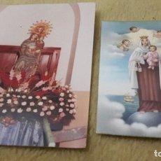 Postales: 2 TARJETAS POSTALES RELIGIOSAS. Lote 76701147