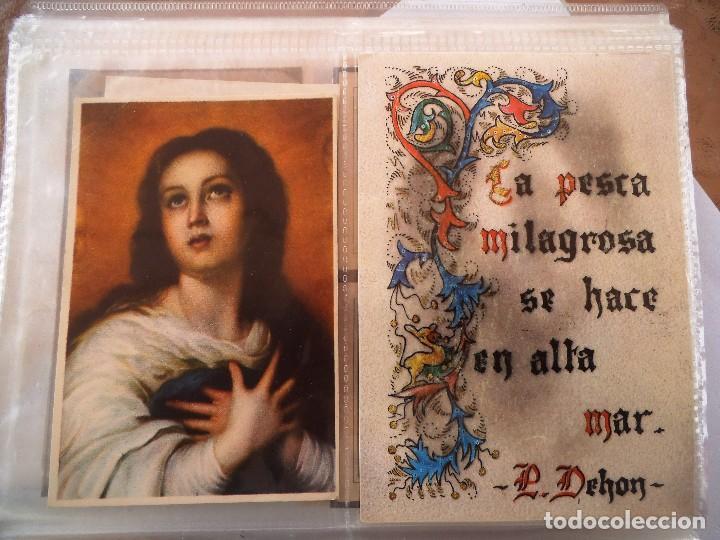 2 POSTALES RELIGIOSAS (Postales - Postales Temáticas - Religiosas y Recordatorios)