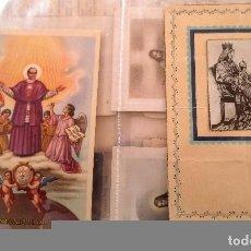 Postales: 2 POSTALES RELIGIOSAS MANUSCRITAS Y FIRMADAS.. Lote 76769651