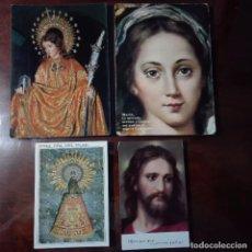 Postales: PRECIOSAS ESTAMPAS ENTRE ELLAS SANTA EULALIA Y LA VIRGEN DEL PILAR. Lote 77177677