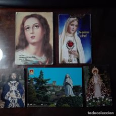 Postales: PRECIOSAS ESTAMPAS ENTRE ELLAS CORAZON DE MARIA Y UN NAZARENO. Lote 77181801