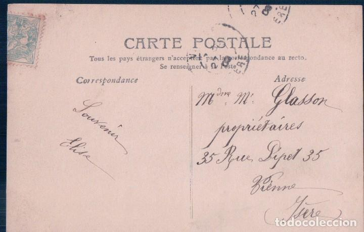 Postales: POSTAL MONJA INVOCATION - CIRCULADA 1906 - Foto 2 - 78428825