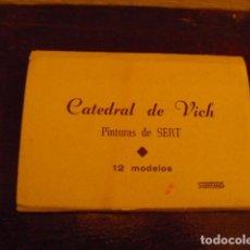 Postales: CATEDRAL DE VICH . PINTURAS DE SERT. Lote 78920737