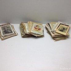 Postales: GRAN LOTE DE 280 RECORDATORIOS DE VIRGENES ,SANTOS ,COMUNION Y DEMAS RECORDATORIOS. Lote 79837549