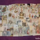 Postales: LOTE DE 125 RECUERDOS DE COMUNION - VAN DESDE EL AÑO 1900 A 1960 - MUY ANTIGUOS Y CURIOSOS. Lote 79924377