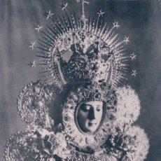 Postales: POSTAL FOTOGRAFICA NUESTRA SEÑORA DEL ROCIO - PATRONA DE ALMONTE - HUELVA. Lote 79926437