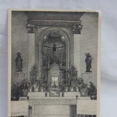 Postales: TARJETA, IGLESIA DEL PILAR, MURCIA 1944. Lote 80610094